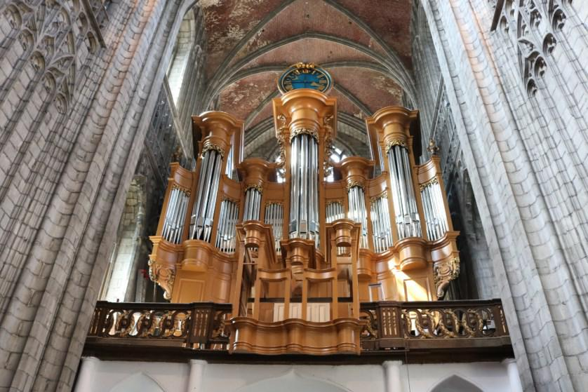 A Mons, le plus grand orgue de Wallonie s'harmonise