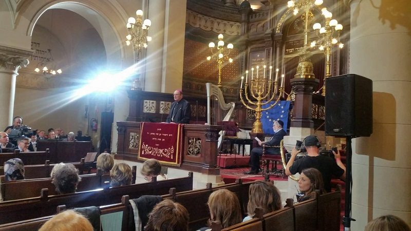 Ceremonie Synagogue de Bruxelles 1