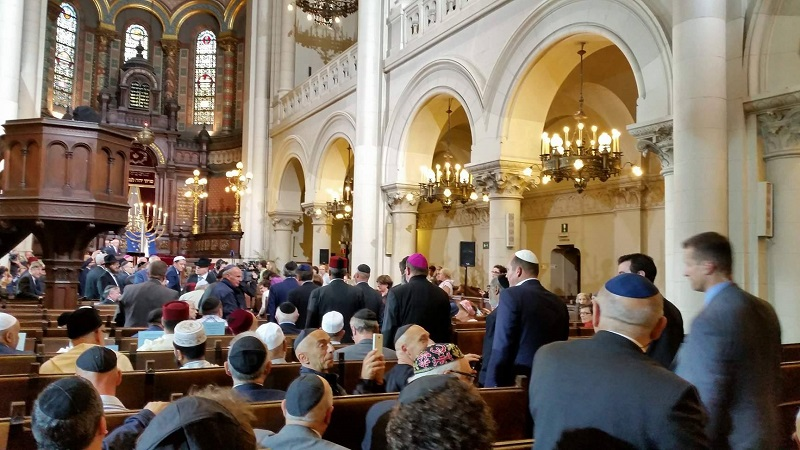 Ceremonie Synagogue de Bruxelles 2